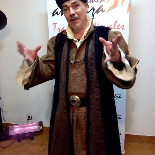 Traje medieval Don ÁLvaro de Luna (Condestable)